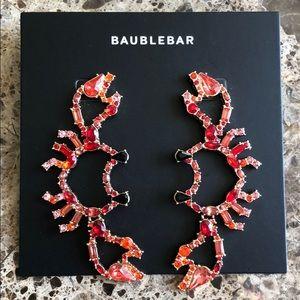 Baublebar crab earrings